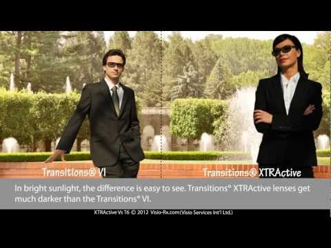 Transitions® VI vs Transitions® XTRActive. Compare These Lenses for Your New Eyeglass.