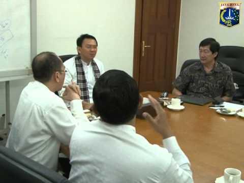 04 Apr 2014 Wagub Basuki T. Purnama Menerima PT Duta Putera Sumatera