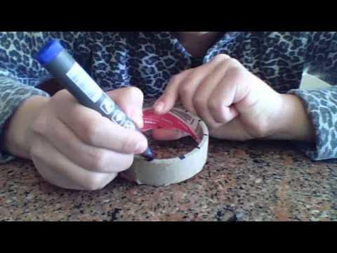 como hacer un telar redondo o reloj para hacer flores