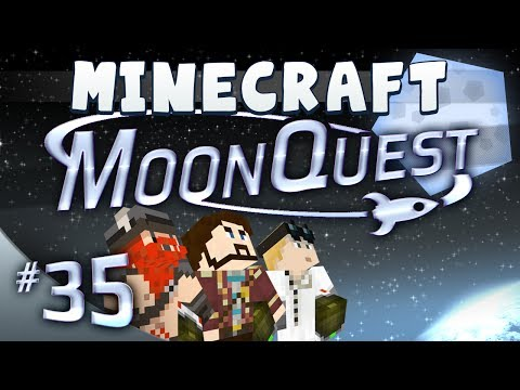 Minecraft Galacticraft - MoonQuest Episode 35 - Make Me A Gun