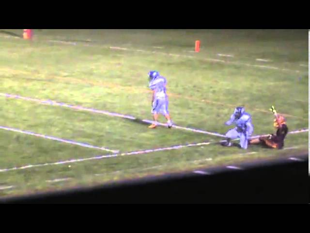 9-27-13 - Kyle Rosenbrock finds Jake Brown for 37 yards