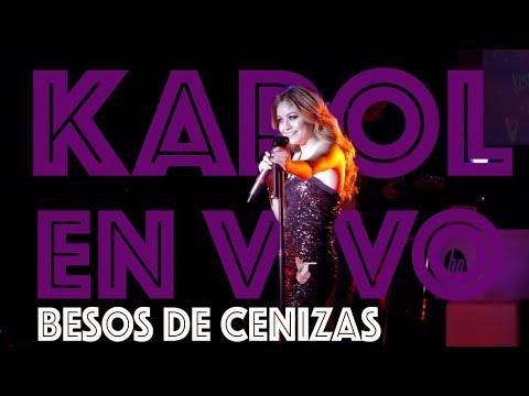Karol Sevilla I En Vivo HP On Live I Besos de Cenizas