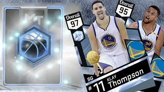 NBA 2K17 My Team - New Diamond Splash Brothers! Curry & Klay Thompson PS4 Pro
