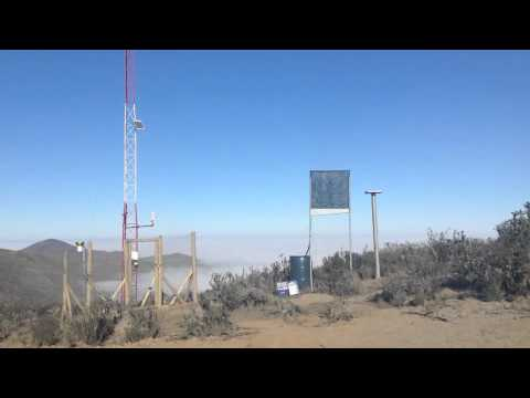 """ Project Camanchaca""-Meteorologica Tower (Eurosolar)- Coast Northern CHILE."