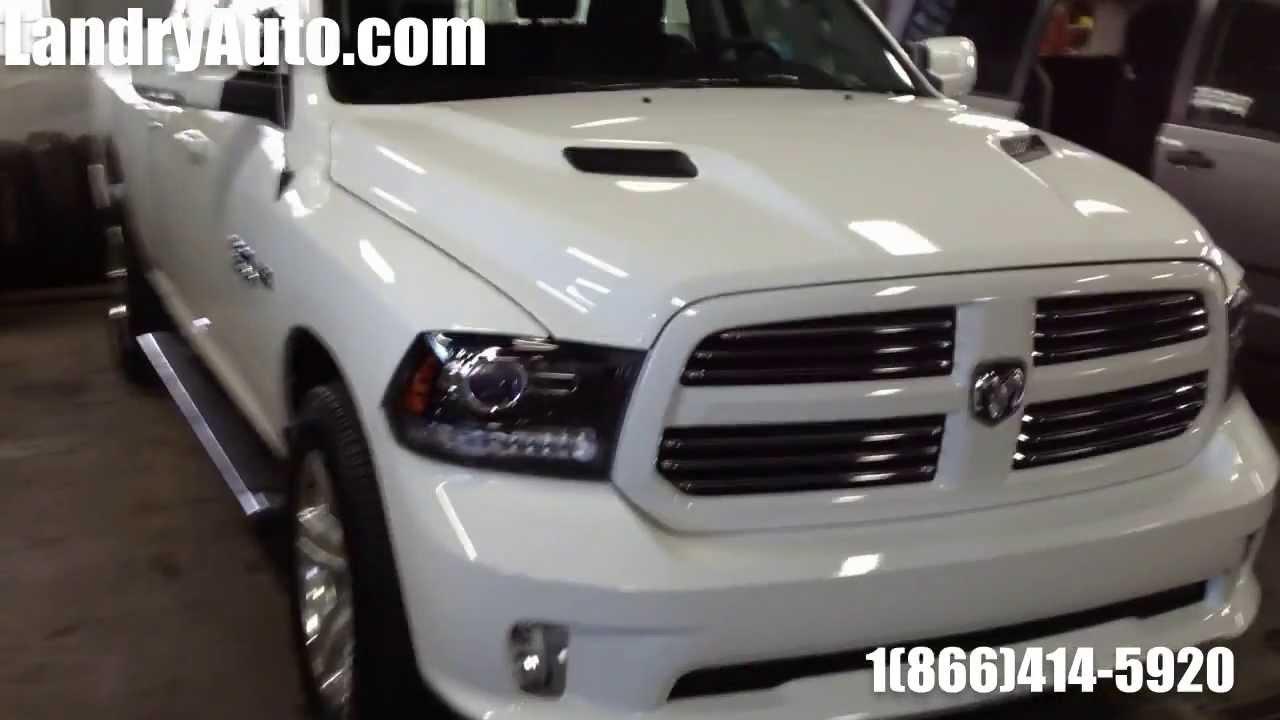 2014 Dodge Ram 1500 Sport White White 2014 Ram 1500 Sport Quad