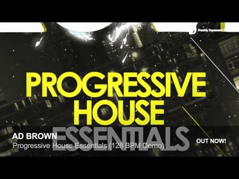 Progressive House Samples | Ad Brown Progressive House Essentials (128 BPM Demo)