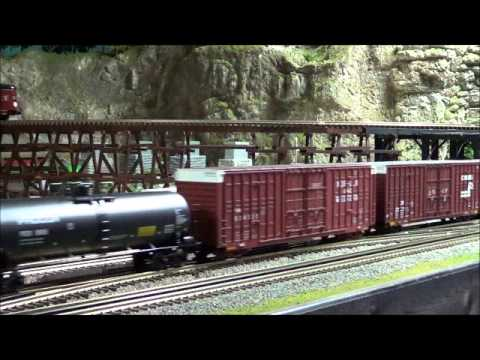 MTH DCS O Scale Train Layout Update 1/2/2013