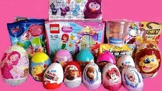 20 Surprise Eggs & Toys Unboxing
