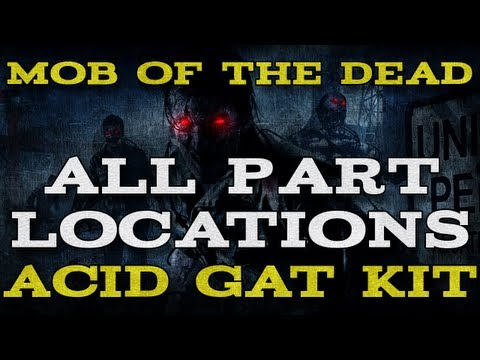 Black Ops 2: Mob of the Dead - All Part Locations for the Acid Gat Kit