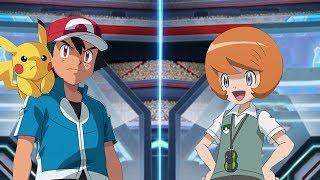 Pokémon Battle USUM Ash Vs Trevor (Kalos League Battle)