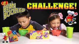 BEAN BOOZLED CHALLENGE! Super Gross Jelly Belly Beans!