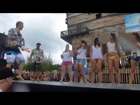 Backstreet Boys Cruise 2013  Wet Tshirt Contest  Bahama's