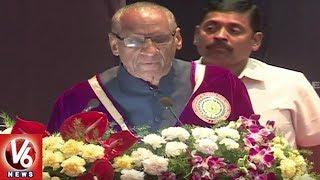 Prof Jayashankar Agricultural University Convocation Ceremony Grandly Held In Hyderabad  - netivaarthalu.com