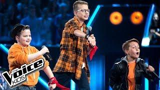 """Kolbusz, Szymański, Woźnicki - """"Can We Dance"""" - Bitwy - The Voice Kids Poland 2"""