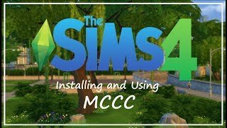 How to Install and Use MC Command Centre 2017 - A Complete Beginners Guide // The Sims 4 Tutorials