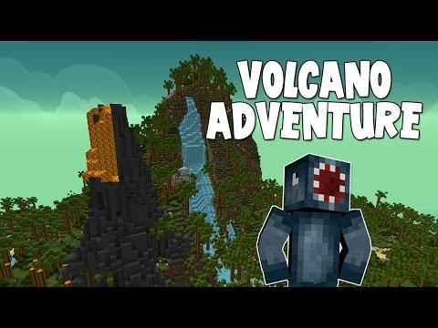 Minecraft - Mission To Mars - Volcano Adventure! [9]