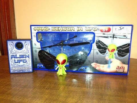 World Tech Toys - Alien UFO (Hand Sensor IR UFO)