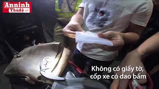 Lực lượng 363 truy đuổi nghi can tội phạm ở Sài Gòn