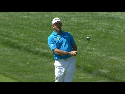 Lee Westwood's approach yields birdie at Barclays