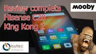 Hisense C20 King Kong 2 Review y test de resistencia en español -- Isytec.net  -  Mooby