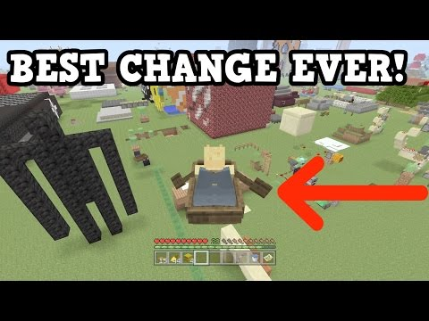 Minecraft Xbox One / PS4 - Most Improved Feature EVER (TU46)
