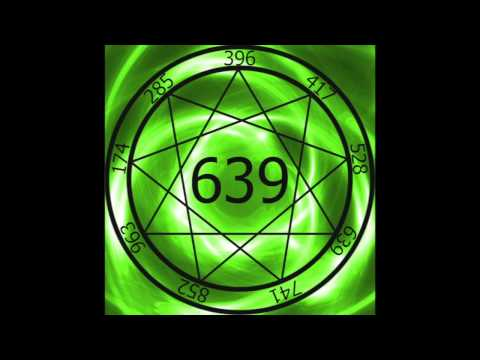1 Hr. Solfeggio Frequency 639hz ~ Connecting Relationships