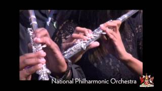 National Philharmonic Orchestra Performs Old Lady Walk A Mile A Half