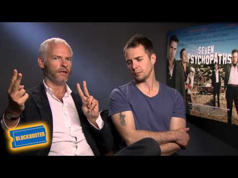 Sam Rockwell & Martin McDonagh Seven Psychopaths Interview
