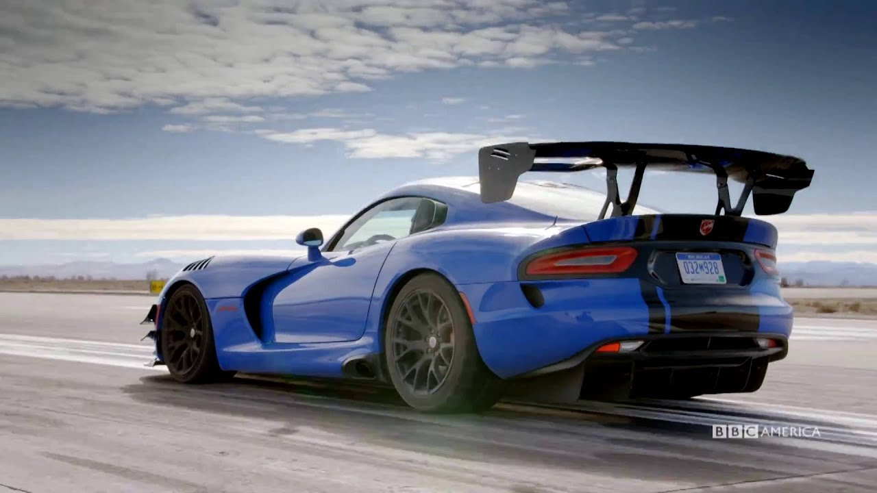 Flooring It in a Dodge Viper - Top Gear - Season 23 Episode 1 Trailer