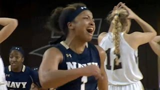 Navy Beats Lehigh On Insane Buzzer Beater | CampusInsiders