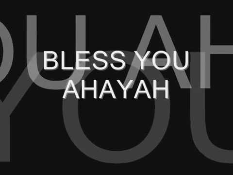 AHAYAHSPROMISE: BARAK ATHA AHAYAH (BLESS YOU AHAYAH)