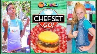 """Chef Set Go """"The CRUSH Burger Challenge"""" 