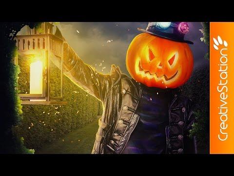 Sr.Pumpkin - Speed art (#Photoshop) | CreativeStation