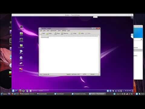 TeamViewer 13 for Linux hotkeys bug YouTube