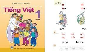 Tiếng Việt lớp 1 Tập 1 Bài 13 | dạy bé học chữ cái tập đọc tiếng việt lớp 1 | PA channel