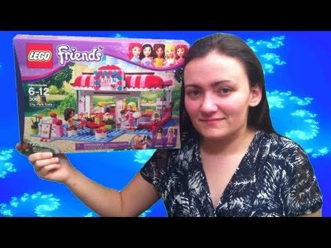 LEGO Friends 3061 City Park Cafe LEGO Review