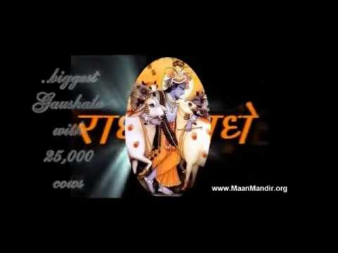 Sri Mandir-radha Krishna Mandir-barsana Temple video