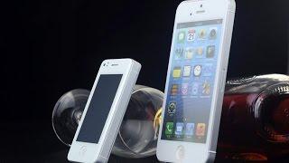 Самый маленький смартфон 2 SIM 2 ядра Android 4 Phonebaby i5s