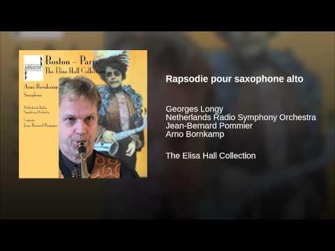 Rapsodie pour saxophone alto