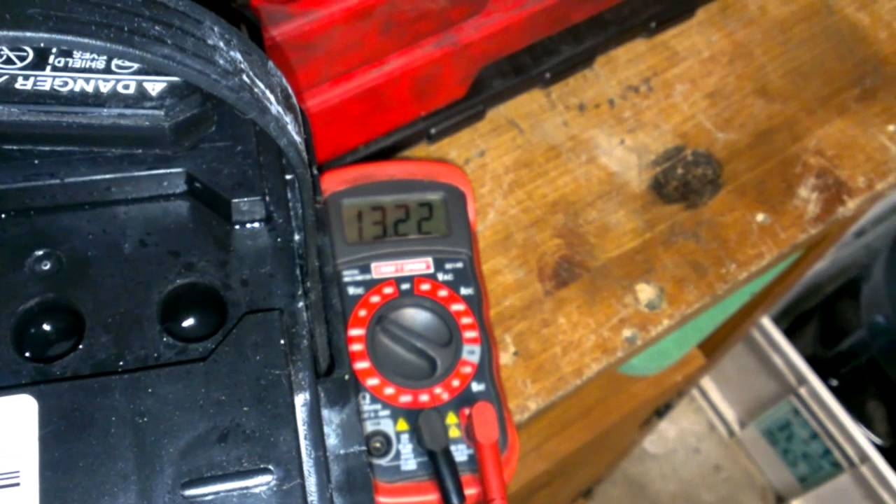 Car Battery Dead Cell Voltage