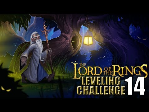 The Lord of the Rings WoW Leveling Challenge Episode 14 - GET OFF THE ROAD!