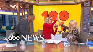 The hilarious Kristin Chenoweth and her adorable puppy visit 'GMA Day'