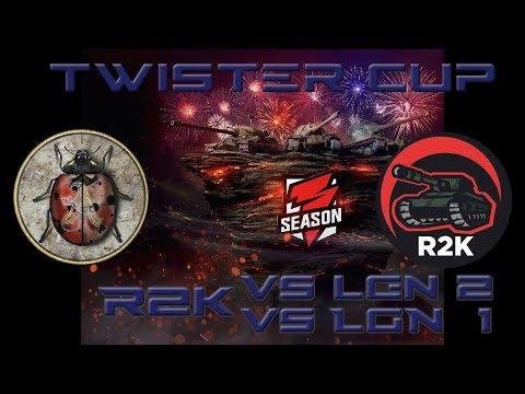 World of Tanks Blitz - Twister Cup Round Robin - R2K vs LGN 2 and vs LGN 1