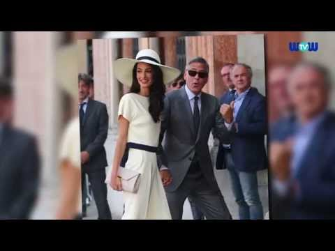 George Clooney & Amal Alamuddin Lavish Wedding Details | WOWtv