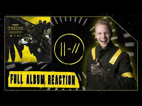 TRENCH - Twenty One Pilots   FULL ALBUM REACTION