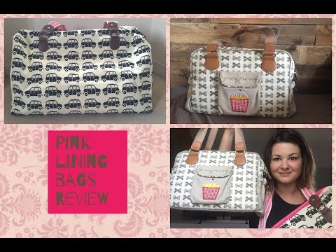 Pink Lining review: Yummy Mummy and Holdall Black Cab Bags