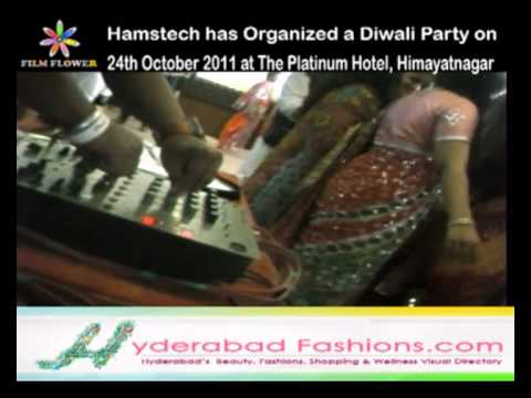 Dance at Hamstech has Organized a Diwali Party at The Platinum Hotel Video 2