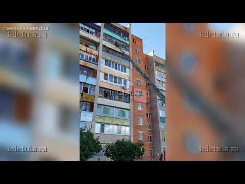 В Туле труп мужчины пролежал на балконе несколько дней