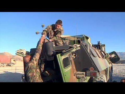 سربازان فرانسوی آماده خداحافظی با افغانستان می شوند
