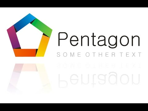 CorelDraw Logo Design Tutorial (Pentagon)